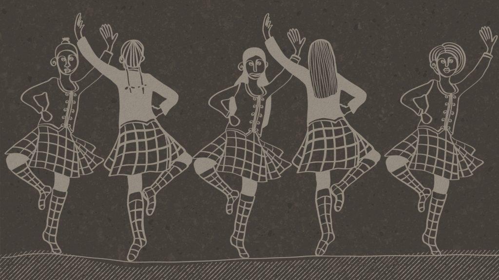 ballerine danza scozzese