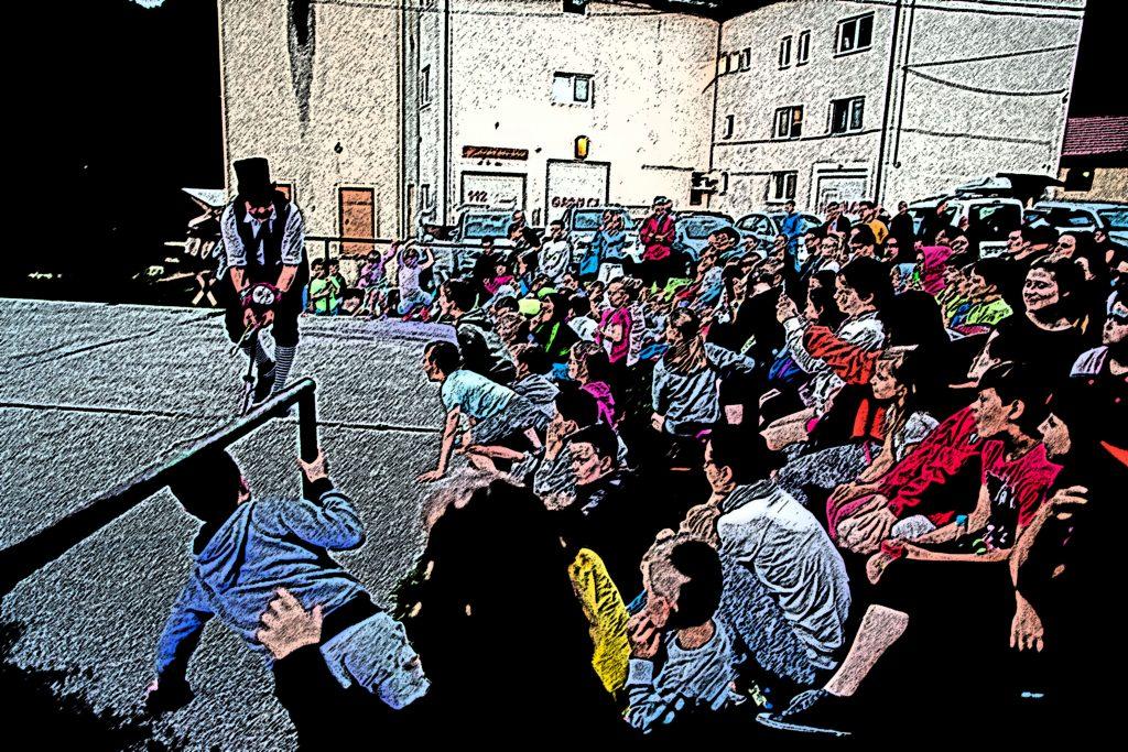 Gašper Križnik Festival Slovenia con il Centro Italiano Storytelling
